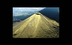 ruhender vulkan
