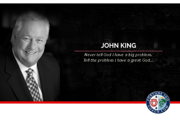John King big problem great God